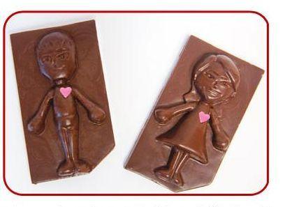 San Valentín: Chocomiis, chocolates inspirados en avatares de la Wii