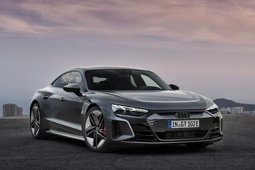 Audi e-tron GT: un Taycan de cuatro aros con hasta 590 hp, que estrena las siglas RS en un eléctrico