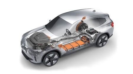 BMW iX3 esquema