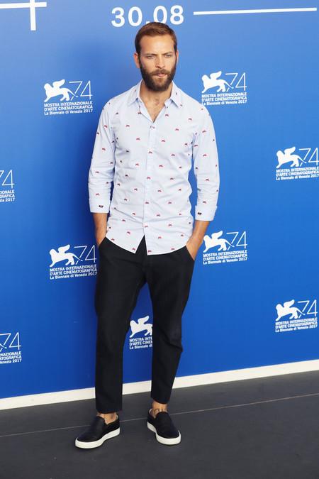 Alessandro Borghi Red Carpet Venice Film Festival 6