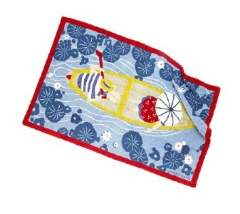 Hermès, toalla pintada a mano