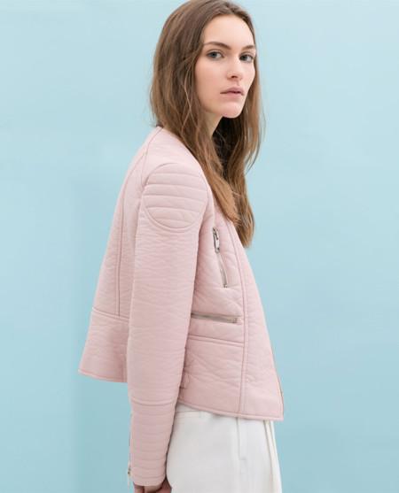 La biker azul y rosa de Zara [Los 50 flechazos del verano]