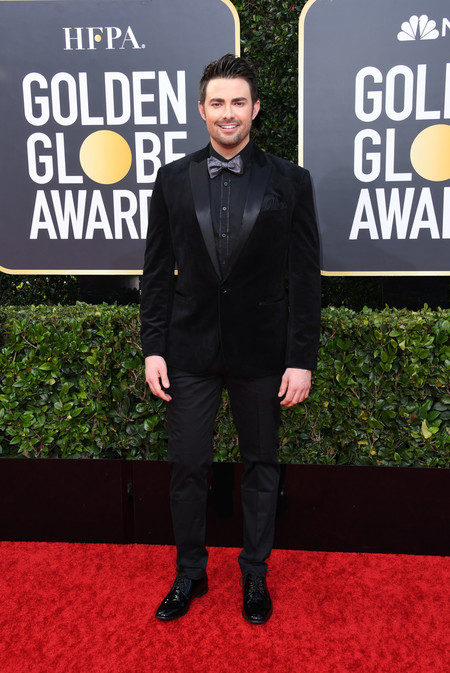 Jonathan Bennett Red Carpet Alfombra Roja Trendencias Hombre Globos De Oro Golden Globes 2020 02