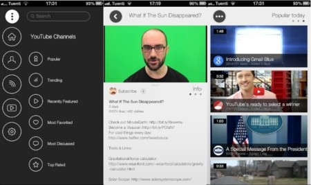Zeewe, un cliente de YouTube para iOS de la mano de un ex-diseñador de Apple