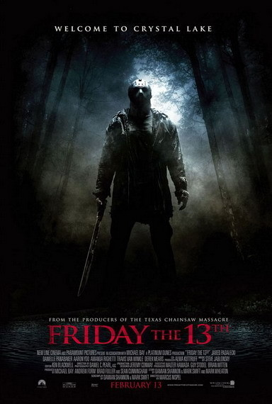 'Friday the 13th', póster