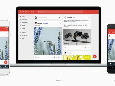 Google anuncia el nuevo Google+ con un nuevo aspecto enfocado en las comunidades y colecciones