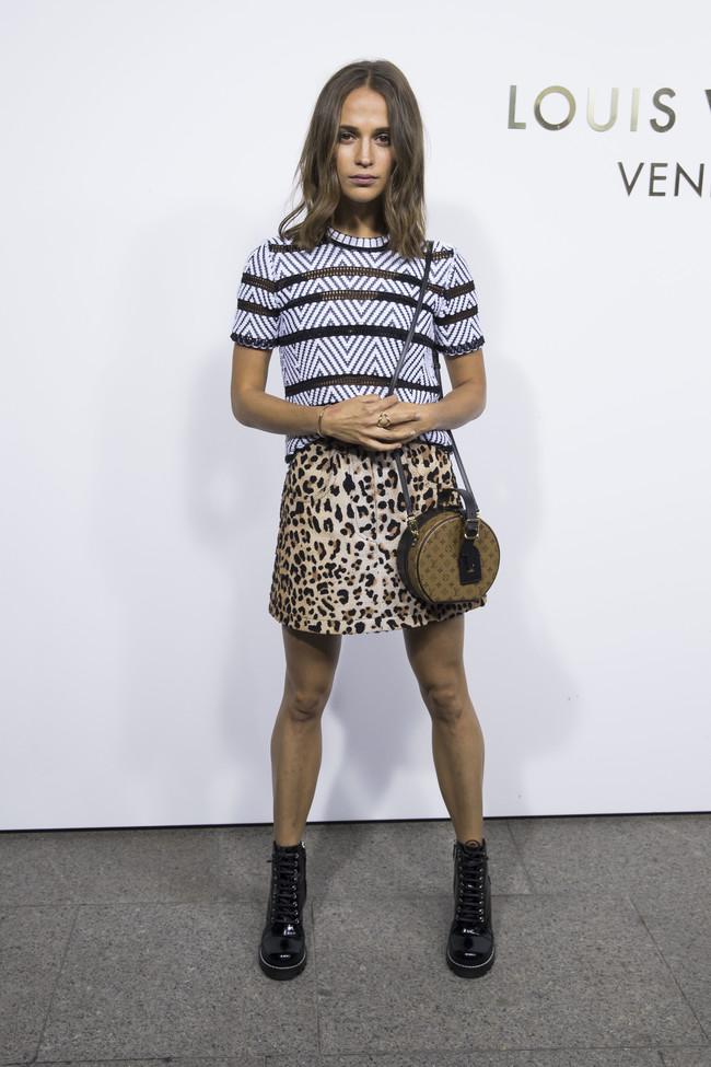 louis vuitton paris celebrities vendome Alicia Vikander