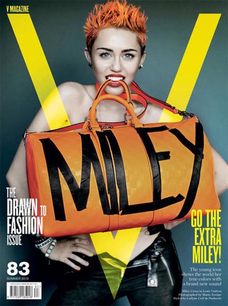 ¿Miley Cyrus un nuevo icono de moda? La última gran broma