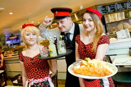 Los mejores lugares para tomarte un buen fish & chips y sentirte un ciudadano más de Londres