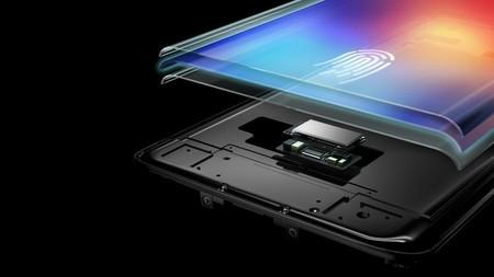 El futuro lector de huellas bajo la pantalla del Samsung Galaxy S10 a escena: lectura de pulso y presión sanguínea
