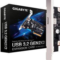 Gigabyte presenta la primera tarjeta PCIe para ampliar la conectividad de tu PC con USB 3.2 de 20 Gbps
