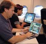 Boeing desiste del uso de Internet en el avión