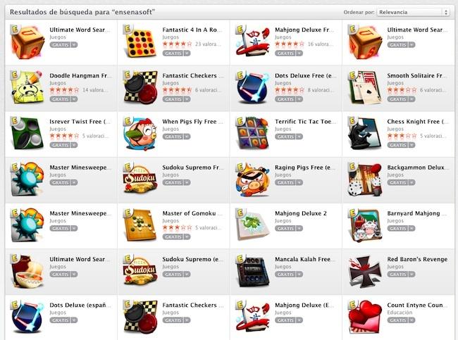 Ensenasoft juegos gratis iOS OSX