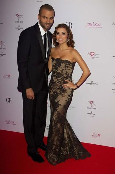 El look de Eva Longoria en la Gala Par Coeur: se lleva el encaje