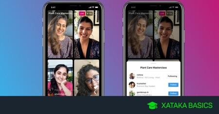 Instagram Live Rooms: cómo iniciar un directo con hasta 4 personas