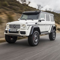 ¡Noooo! La producción del Mercedes-Benz G 500 4x4² llega a su fin