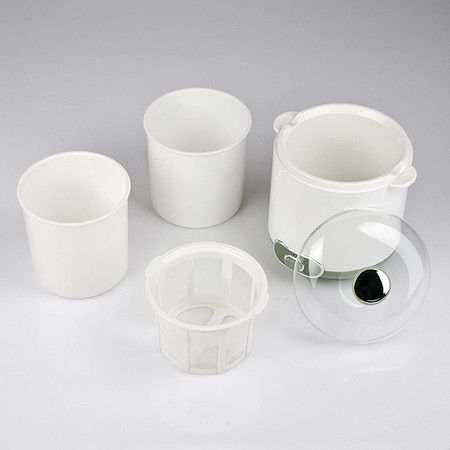 Girmi Yg02 Yogurteras Capacidad 1 5 Litro 20 W Plastic Verde Blanco