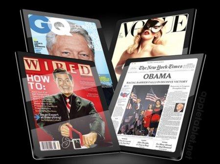 El futuro de los medios impresos, el iPad
