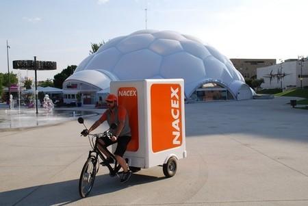 UPS, FedEx y Nacex ya utilizan triciclos eléctricos para sus envíos