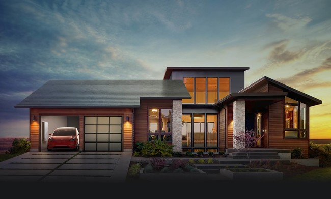 Tesla Solar Home