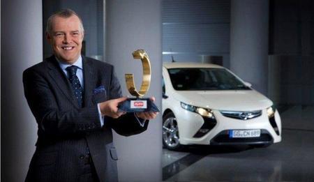 El Opel Ampera se lleva el prestigioso Auto Trophy 2011