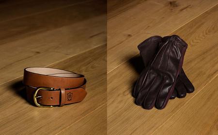 guantes y cinturon massimo dutti equestrian 2013
