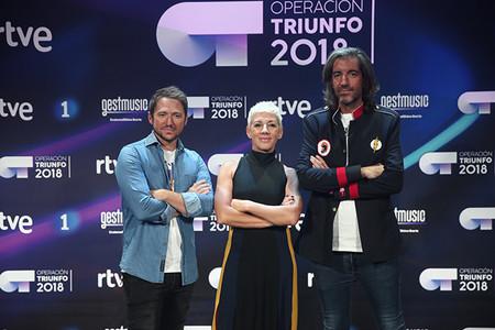 Jurado Operacion Triunfo 2018