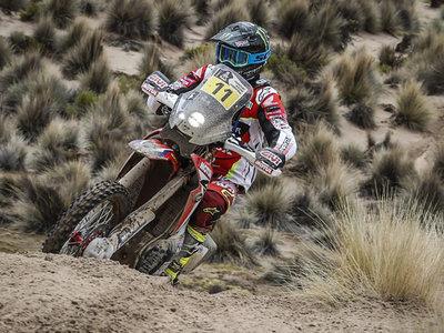 Joan Barreda gana la octava etapa y no pierde la esperanza