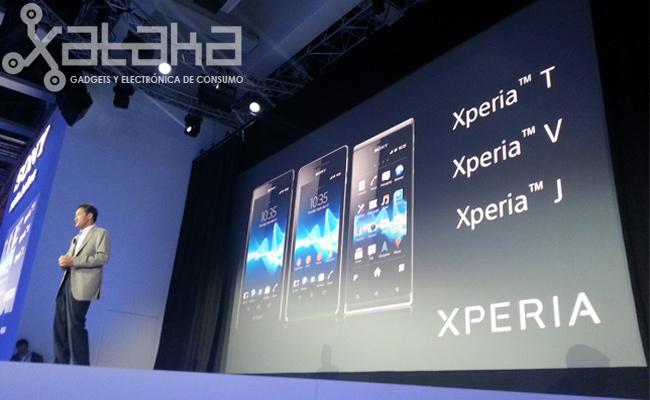 Sony Xperia T V J