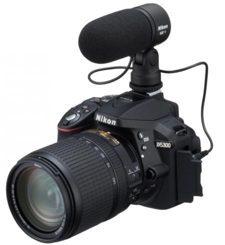 Nikon D5300 micrófono