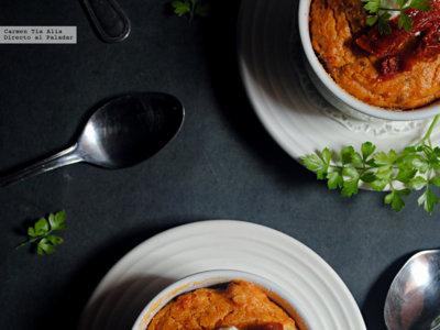 Flanes de tomates secos y queso Parmesano. Receta sin gluten para el #DíadelCelíaco