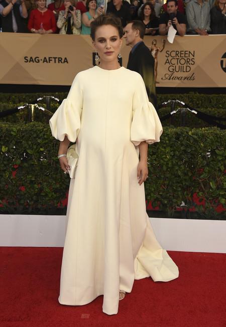 Natalie Portman Dior Sag Awards2017 Look 2