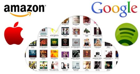 Comparativa de iTunes Match con Amazon Cloud Player, Google Music y Spotify