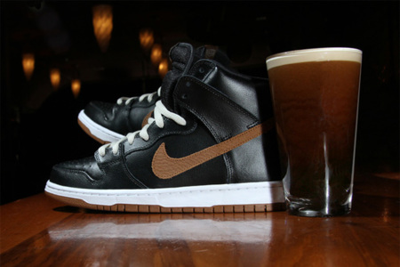 Zapatillas Guinness Nike SB Dunk High