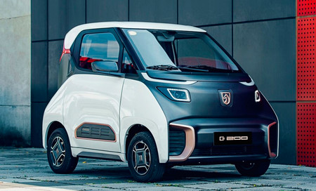 Wuling Baojun E200, un coche eléctrico 'de bolsillo' y de bajo coste para China... de momento