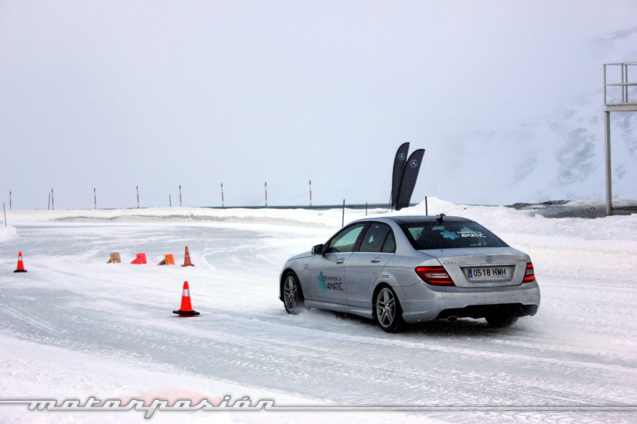 Foto de Michelin Pilot Alpin y Michelin Latitude Alpin, Experiencia 4Matic (2/27)