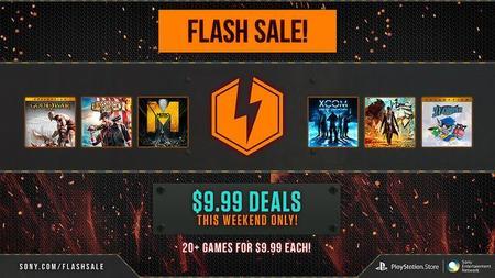"""PlayStation anuncia nueva """"Flash Sale"""", más de 20 juegos a 9.99 dólares"""
