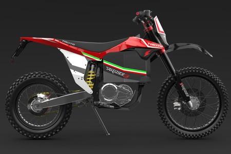 Hasta 100 km de autonomía y 45 cv para la Tacita T-Race Enduro, una moto 100% eléctrica en busca de la disrupción