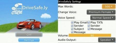 DriveSafe.ly te lee los SMS y los e-mail cuando estás al volante