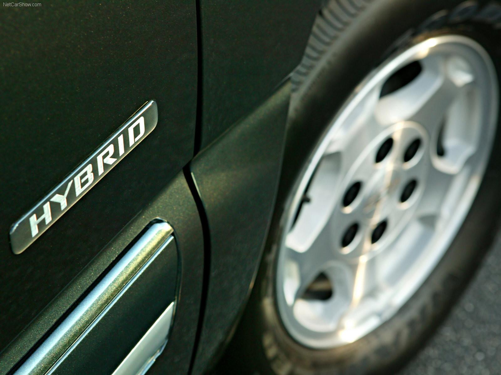 Foto de Chevrolet Silverado híbrida 2005 (3/4)