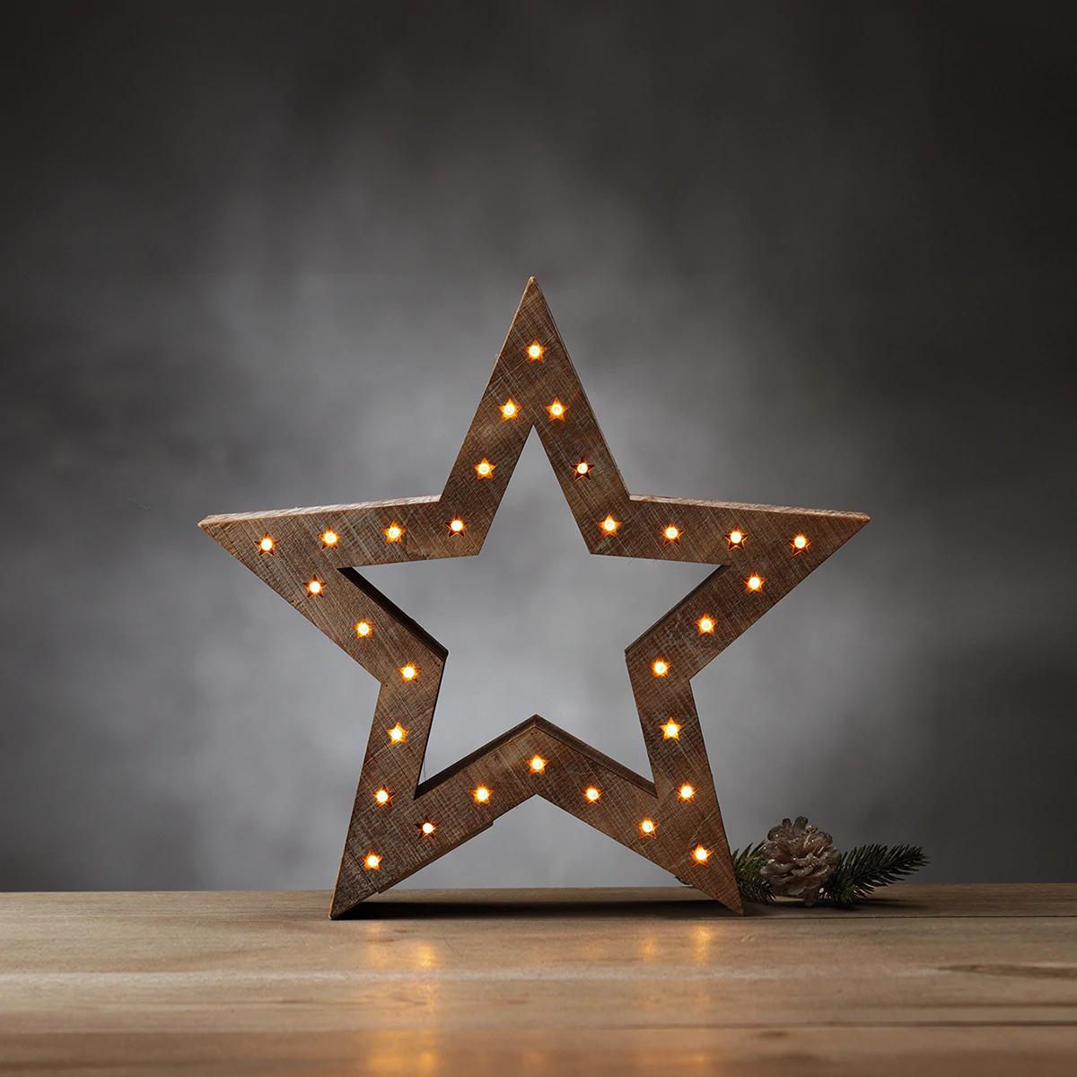 Estrella con luz
