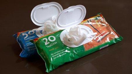 Nuevas formas de cuidar la cocina - toallitas limpiadoras