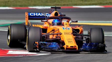 Alonso Mclaren F1 2018