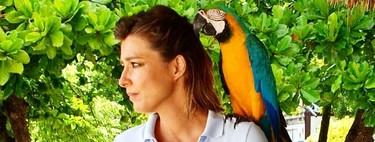 """Sandra Barneda dice """"adiós con el corazón"""" a la isla más salidorra del mar Caribe"""