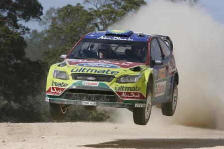 El Rally de Australia se aprieta desde primera hora