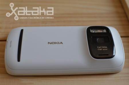 Nokia 808 pureview análisis parte trasera