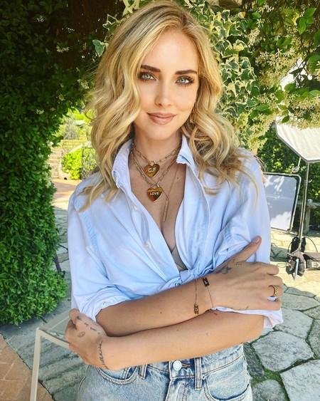 Chiara Ferragni se suma a la manicura de smileys, la tendencia del momento