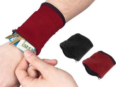 Muñequera/billetera por sólo 0,76 euros y envío gratis en Aliexpress. ¡Una forma diferente de llevar dinero!