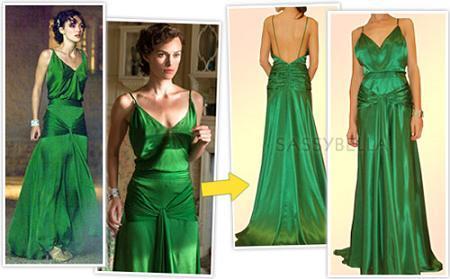 ¿Te gusta el vestido verde de Keira Knightley? Puede ser tuyo