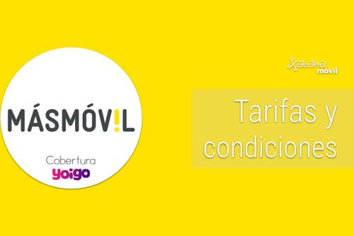 Tarifas de MásMóvil fibra, móvil y combinados: Todas las ofertas